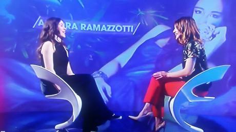 Aurora Ramazzotti a Verissimo Toffanin
