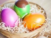 Uova pasquali gourmet: torrone cioccolato racchiuso sottile guscio d'uovo