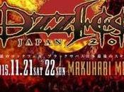BLACK SABBATH Concerto d'addio novembre Giappone