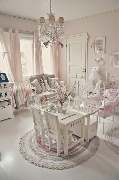Awesome Cameretta Shabby Chic Pictures - Flowersplace.us ...