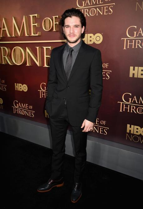 Kit Harington indossa Burberry sartoria a Game of Thrones Season 5 premiere a San Francisco CA 23 marzo 2015 800x1167 Style Watch: Anton Yelchin, Bradley Cooper, Brad Goreski + More
