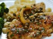 Chicken piccata (scaloppine pollo limone Manhattan style)