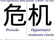 vero significato della parola crisi cinese