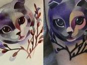 Acquerelli tatuaggi tridimensionali: Sasha Unisex