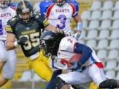 Football Americano: Giants espugnano Nebiolo, quarta sconfitta Giaguari