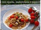 Pasta pesce spada, melanzane pomodorini Giorgio Morandi Roma Menuturistico