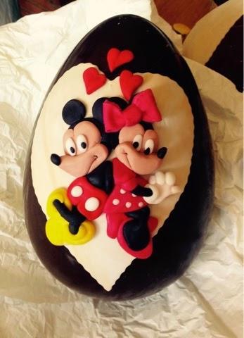 Idee per decorare le uova con la pasta di zucchero paperblog for Decorare la stanza di minnie e topolino