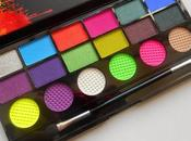 Makeup Revolution Ultimate Colour Chaos Palette Recensione, Swatches Make Look