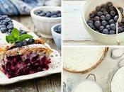 Torta yogurt mirtilli Blueberries cake