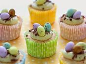 Cupcakes Pasqua cioccolato bianco