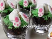 Tutorial bicchieri torta coniglietto pasta zucchero dolcidee.it un'idea Pasqua