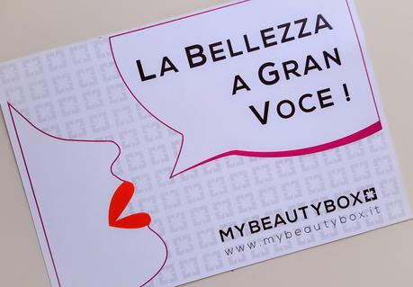 La bellezza a gran voce, la Mybeautybox di marzo 2015 con ActionAid, Revlon, Helan e altri...