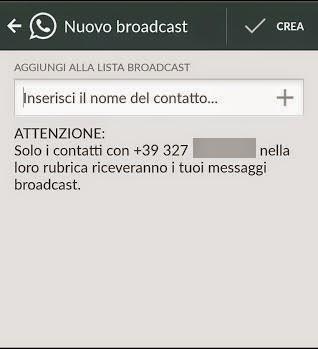 [Guida] Whatsapp: Inviare lo stesso messaggio a più persone (es. Per Auguri di Pasqua, Natale...)