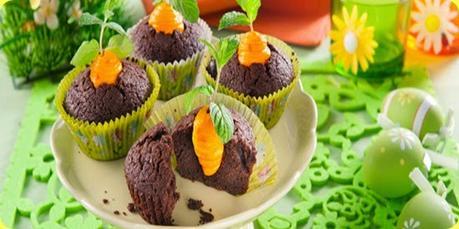 Cupcakes di Pasqua al cioccolato