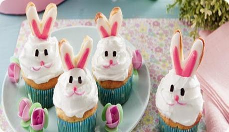 Cupcakes di Pasqua con crema al mascarpone
