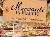 Castello Quistini torna Mercanti Viaggio, Vintage creatività handmade