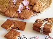 Biscotti integrali Uvetta Zucchero Canna Zenzero