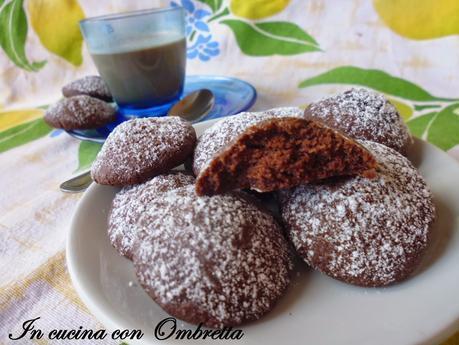 Biscotti al cacao al microonde