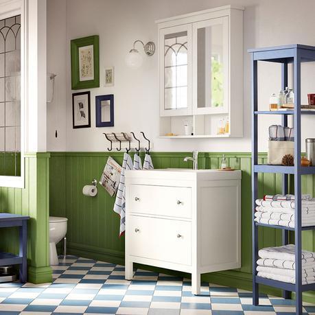 Arredo bagno idee ikea in primo piano paperblog - Ikea cestini bagno ...