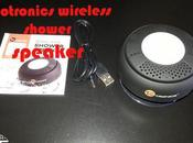 Recensione: taotronics wireless shower speaker