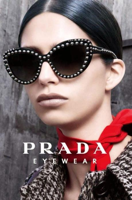 Prada, ss15 - studded sunglasses... ma anche no
