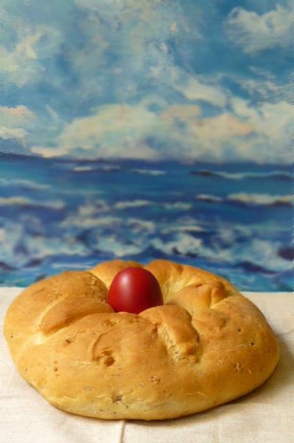lambrokouloura / la ciambella di Pasqua