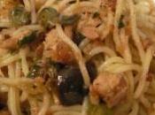 Pasta tonno olive nere
