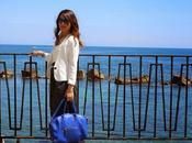 Non-solo-moda#31: panta palazzo pois... tante sfumature azzurro