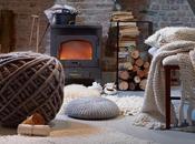 casa avvolta mantello lana