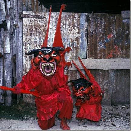 Big Devil Little Devil, Jacmel, Haiti, 1997