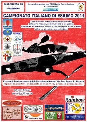 Italian Roll Championship - Kayaks
