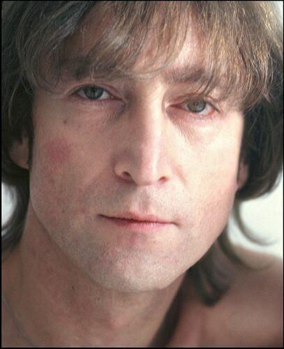 John Lennon 1980 photo by Allan Tannenbaum