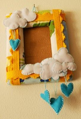 Portaoggetti da parete e cornice morbidosa paperblog - Portaoggetti da muro ...