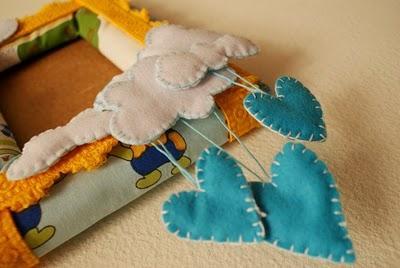 Portaoggetti da parete e cornice morbidosa paperblog - Portaoggetti bimbo ...