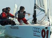 L'audi melges sailing team riccardo simoneschi alla bacardi