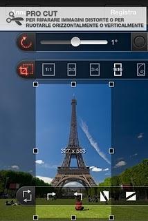 Procamera una applicazione professionale per scattare photo con L'iPhone o iPod touch