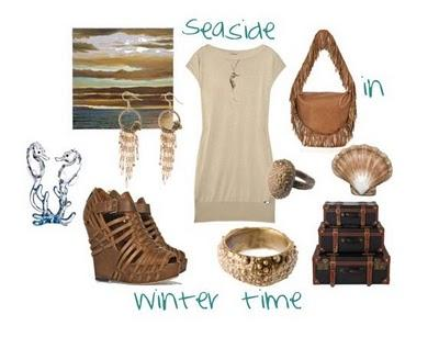 Polyvore love: Seaside in winter time