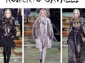 ROBERTO CAVALLI GIORGIO ARMANI SALVATORE FERRAGAMO DOLCE GABBANA Woman Fashion Show Milano
