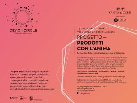Secondo appuntamento con Design Circle