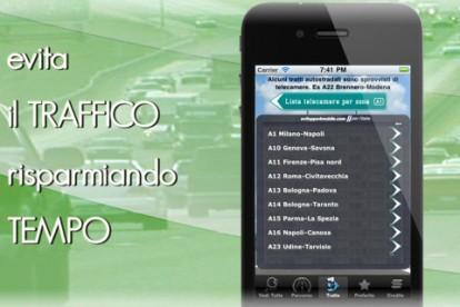 Ecco una utilissima applicazione Video Telecamere strade/autostrade