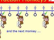 Giocare frazioni: Fraction Monkeys
