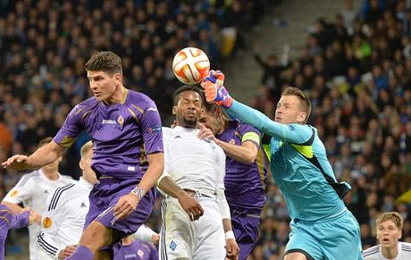 Dinamo Kiev-Fiorentina 1-1 video gol highlights