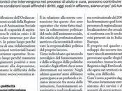Ferrario Paolo, TEMPO CONVERGERE PROBLEMI PROFESSIONI, essere professionisti sociali dentro città crisi, ANIMAZIONE SOCIALE 288, pagg. 100-101