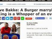 Gratuito Matrimonio Signor Burger Signorina King.