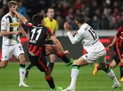 Eintracht Francoforte-Borussia M'Gladbach Attacchi spreconi: finisce reti bianche