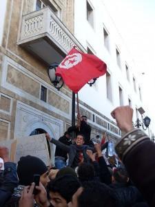 Istantanea da Tunisi. La Carovana della Liberazione. Photocredits: Rais67, Pubblico dominio