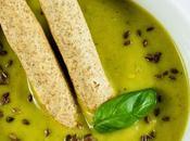 Crema zucchine basilico Zucchini basil soup recipe