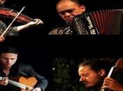 "Maremma Toscana, palco ""Rumori Versi Jazz"" musica gypsy Note Noire Quartet"