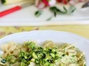 pesto: farfalle kamut pesto zucchine