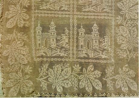 Schemi Per Il Filet Copriletto Con Castelli Paperblog